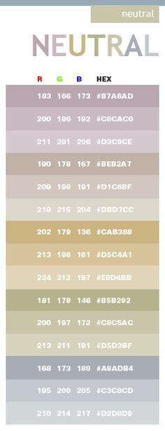 Aesthetic Color Codes : aesthetic, color, codes, Codes, Ideas, Color, Pallets,, Schemes,, Inspiration