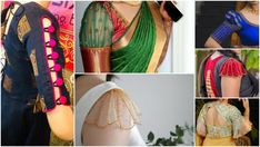Looking for latest blouse sleeve designs to try with your sarees? Check out gorgeous sleeve styles that you can try with silk and party wear sarees. Simple Blouse Designs, Blouse Neck Designs, Sleeve Designs, Simple Designs, Anime Kitten, Checks Saree, Party Wear Sarees, Beautiful Saree, Saree Blouse