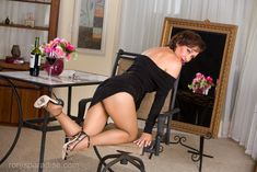 Ultimate mature pantyhose and stocking