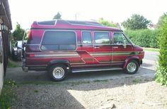 Chevrolet-G20-Day-Van-1991-custom-hot-rod-with-matching-trailer