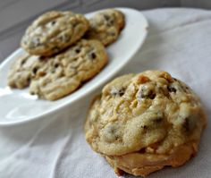 The Cooking Actress: Chocolate Chip and Peanut Butter Truffle Swirled C...