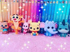 Winnie the Pooh Funko Pop. I want them! Funko Pop Figures, Pop Vinyl Figures, Funko Pop Dolls, Disney Pop, Disney Stars, Pop Characters, Pop Figurine, Pop Collection, Winnie The Pooh