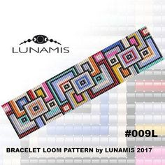 loom bracelet pattern, loom pattern, loom stitch, square stitch pattern, beading pattern Bracelet design /pdf format/ pattern only. Create this beautiful cuff bracelet. This is a DIGITAL product, no physical goods will be sent! (Materials are NOT included!) Bracelet loom