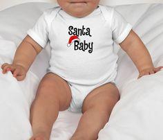 Santa Baby shirt baby shirt santa baby christmas by OurCornerShop