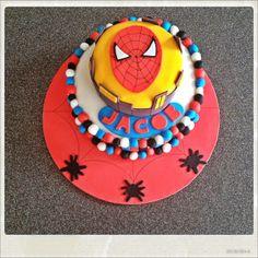Tarta spiderman 2 Trozo tarta cake cook dessert