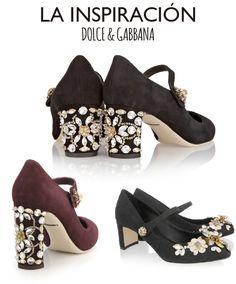 DIY zapatos inspirados en Dolce & Gabbana para fiesta