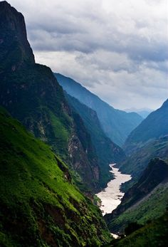 Tiger Leaping Gorge, China. I got lost on my own so was unable to do this last time (I had booked to go with a tour). Next time!