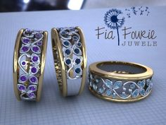 Fia Fourie Jewellery Design Your Own, My Design, Cad Designer, Womens Fashion, Fashion Trends, Fashion Design, Cuff Bracelets, Jewelery, Rings For Men