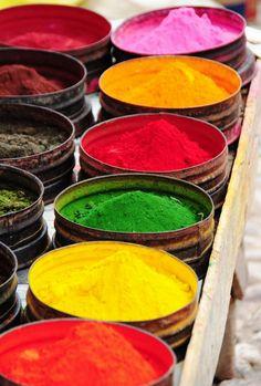 Pisac Market, Pisac, Peru #travel #color #Peru