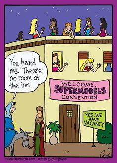 No. Room.