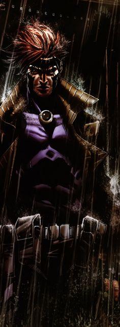 Gambit: X-Men series Comic Book Characters, Comic Book Heroes, Marvel Characters, Comic Character, Comic Books Art, Comic Art, Marvel Comics Art, Marvel Vs, Marvel Heroes