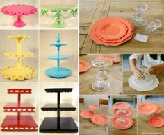 DIY Cake Stands The Best Collection Of Ideas   The WHOot