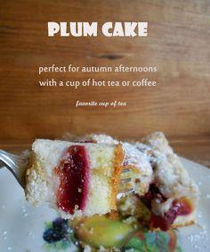 my cup of tea: Italian Prune Plum Cake (Ciasto Ucierane ze Śliwkami)
