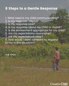 Attachment Parenting, My Children, No Response, Environment, Environmental Psychology