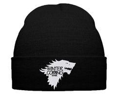 WINTER IS COMING STARK BEANIE WINTER HAT