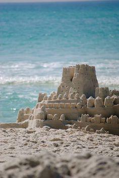 Castles of sand, posted via Vênus-sc.tumblr.com