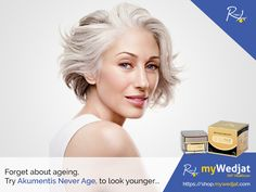 Forget about aging, try Akumentis Never Age, to look younger forever ...