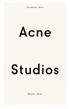 46 Trendy Ideas For Fashion Logo Inspiration Acne Studios Logo Inspiration, Logos, Logo Branding, Branding Design, Branding Ideas, Luxury Branding, Acne Studios, Police, Fashion Logo Design