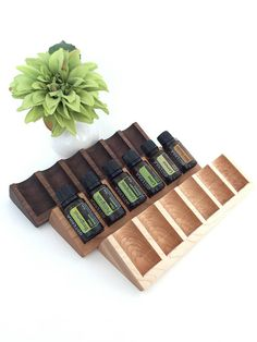 New Essential Oil Wedge Display Tray 15 ml Bottle Holder