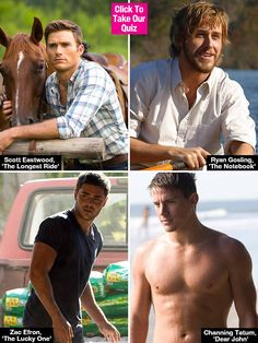 Oh MY! *Turns bright red as a tomato* I got Luke Collins from 'The Longest Ride'! Which Nicholas Sparks Hottie Do You Belong With? — Quiz