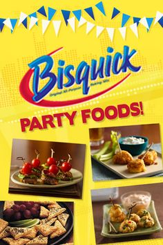 Bisquick Party Foods 2012: Betty Crocker  Bisquick Party Foods