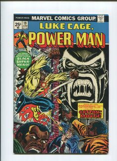 LUKE CAGE #19 (VF+) 1st Appearance of COTTONMOUTH! SEE MORE BRONZE AGE COMICS