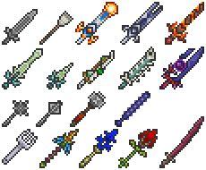 Terraria spears