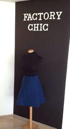 Falda al biés