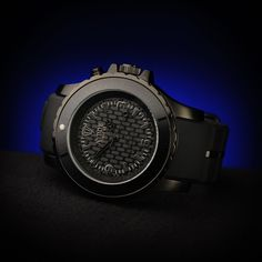 Belgian Dandy - KYBOE BS-005: The Ultimate Matte Black Stealth watch