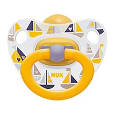 NUK Pacifier Soother Happy Kids 0-6 Months Latex Marine Navy Unisex (4255-11) #NUK