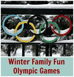 The Winter Olympics are now upon us and we'll be glued to our televisions soon, sitting at the edge of our seat and cheering on amazing athletes. The Olympics is such an exciting time and a great chance to introduce your children to new sports and great role models! Most of us only watch the …