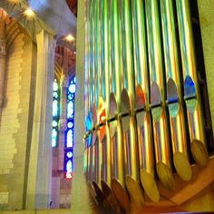 Barca - Sagrada Familia Organ pipes by Steve Swindells on 500px