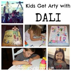 Kids Art Activities: Discovering Dali
