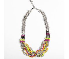 Wrapped Bib Necklace Uncovet