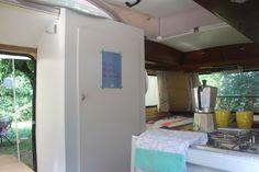 #Eriba #triton #caravan - made a closet in my caravan