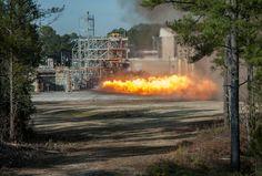 Apollo Engine Test Fire Inspiring Future Rocket Designs - Space News - redOrbit