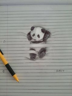 Cute Animal Pencil Drawings – Fubiz Media