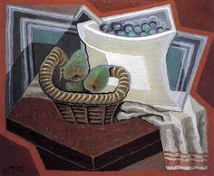 Juan Gris, The Basket of Pears on ArtStack #juan-gris #art