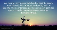 Romanos 8:26 - dailyverses.net