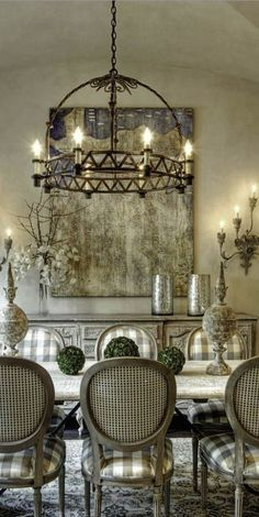 Luxury Dining Room Design Ideas With French Style. Here are the Dining Room Design Ideas With French Style. This article about Dining Room Design Ideas With French Style French Country Dining Room, French Country Kitchens, French Country Cottage, French Country Style, Country Living, Country Bathrooms, Rustic French, Rustic Style, French Country Lighting