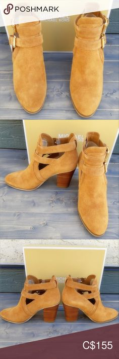 Michael Michael Kors Suede Ankle Boots Michael Michael Kors Suede Ankle Boots Suede Buckle Fasteners Heel NWT Never Worn Bundle 2 or More Items🛍 For One Shipping Fee💕 Michael Kors Shoes Ankle Boots & Booties Fashion Bags, Fashion Models, Fashion Outfits, Fashion Designers, Fashion Trends, Runway Fashion, Cheap Michael Kors, Michael Kors Shoes, Suede Ankle Boots