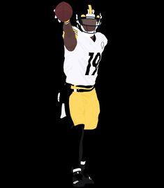 Football Design, Football Art, College Football, Sports Drawings, First Down, Pittsburgh Steelers, Afro, Baseball, Artwork
