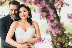 There is only one happiness in life... to love and be loved.  #WeddingWednesday with Tiffany and Mark on their very special day #weddingseason #bridalbeauty #makeupandhair by Kay and Christopher of #kayanabeauty #kayanabeautytrends