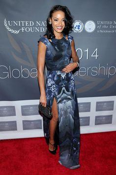 Selita Ebanks Photos: Global Leadership Dinner