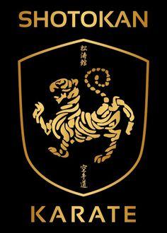 Gold Shotokan Karate #shotokan #karate More