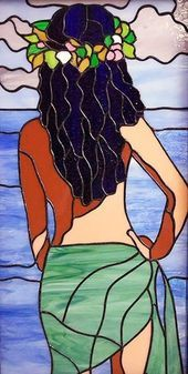 40 Very Easy Painting Ideas for Beginners – Cartoon District – - Malerei Stained Glass Paint, Stained Glass Designs, Stained Glass Panels, Stained Glass Projects, Stained Glass Patterns, Mosaic Art, Mosaic Glass, Glass Art, Glass Painting Designs