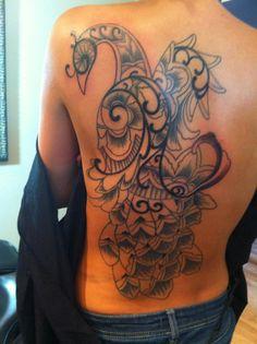 Henna inspired Peacock tattoo. | Ink Needles & Skin | Pinterest Henna Inspired Tattoos, Peacock Tattoo, Crazy Tattoos, Tattoo Ink, Tatting, Piercings, My Style, Amp, Inspiration