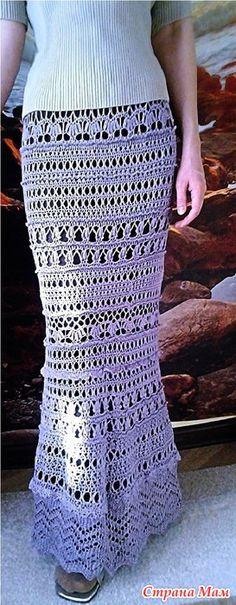 Здравствуйте, девочки. Хочу показать вам 4 юбки.  3 я связала своей сестре. Одну себе. Начну, пожалуй, с юбок крючком.  №1 Это всем известная Лилия.