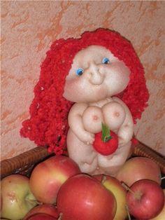 Евочка на яблочке - Ярмарка Мастеров - ручная работа, handmade
