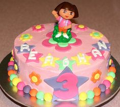 Dora the Explorer Cake | Flickr - Photo Sharing!
